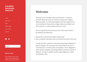 Sanctuarycanada.ca thumbnail