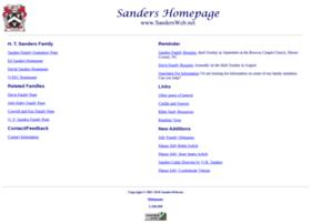 Sandersweb.net thumbnail