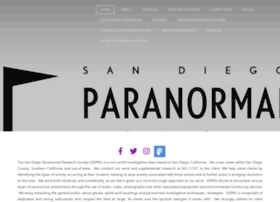 Sandiegoparanormalresearch.com thumbnail