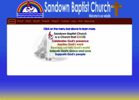 Sandownbaptist.church thumbnail
