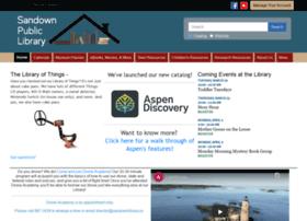 Sandownlibrary.us thumbnail