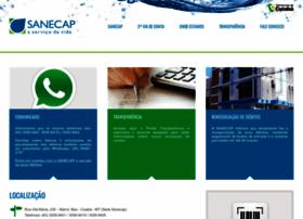 Sanecap.com.br thumbnail