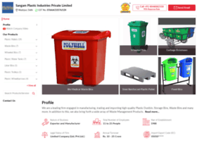 Sangamplastic.co.in thumbnail