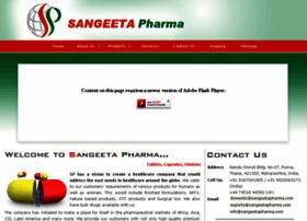 Sangeetapharma.com thumbnail
