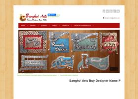 Sanghviarts.com thumbnail