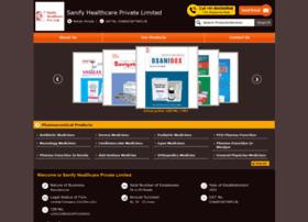 Sanifyhealthcare.co.in thumbnail