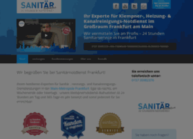 Sanitaernotdienstfrankfurt.de thumbnail