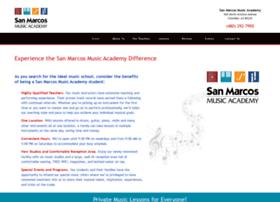 Sanmarcosmusicacademy.com thumbnail