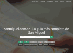 Sanmiguel.com.ar thumbnail