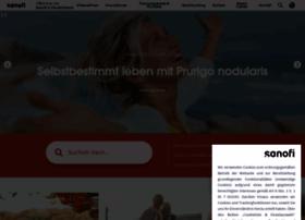 Sanofi-aventis.de thumbnail