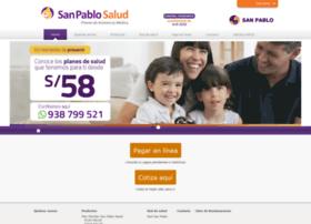 Sanpablosalud.com.pe thumbnail