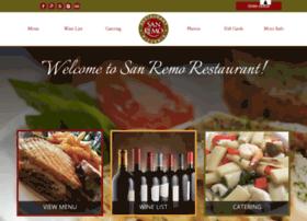Sanremorestaurant.net thumbnail