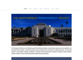 Santamonicatransparency.org thumbnail