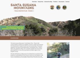 Santasusanatrailsplan.org thumbnail
