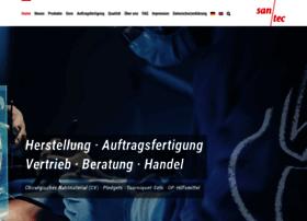 Santec-medical.de thumbnail