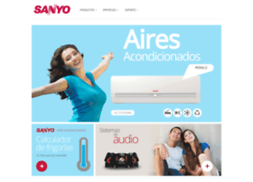 Sanyo.com.ar thumbnail
