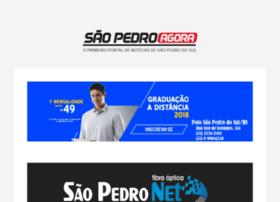 Saopedroagora.com.br thumbnail