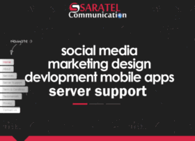 Saratelcommunication.net thumbnail
