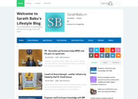 Sarathbabu.in thumbnail