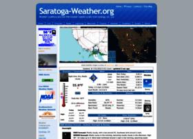 Saratoga-weather.org thumbnail