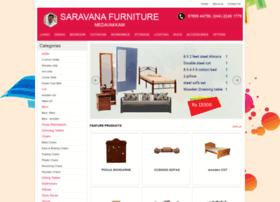 Saravanafurnitures.in thumbnail