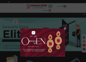 Saravanastores.in thumbnail