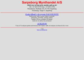 Sarpsborgmynthandel.no thumbnail