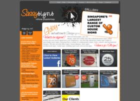 Sassysigns.com.sg thumbnail