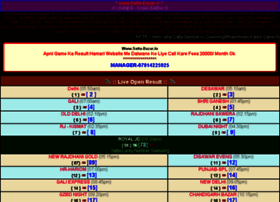 play bazaar result chart