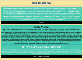 Sattafixjodi.com thumbnail