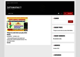Sattamatka77.in thumbnail