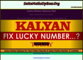 Sattamatkadpboss.org thumbnail