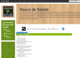 Sauce-salade.com thumbnail