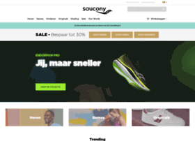 Saucony.be thumbnail
