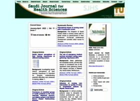 Saudijhealthsci.org thumbnail