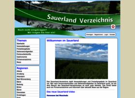 Sauerland-verzeichnis.de thumbnail