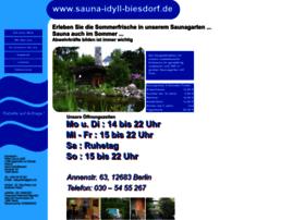 Sauna-idyll-biesdorf.de thumbnail