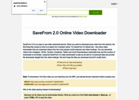 Savef.net thumbnail