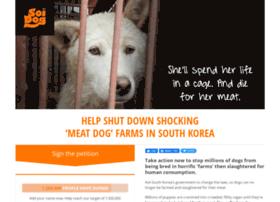 Savekoreandogs.soidog.org thumbnail