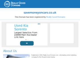 Savemoneyoncars.co.uk thumbnail