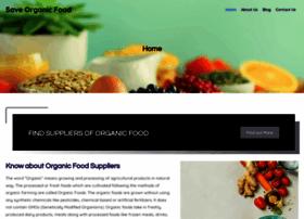 Saveorganicfood.org thumbnail