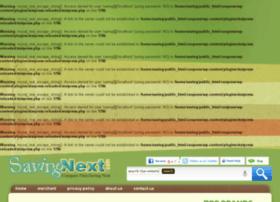 Savingnext.com thumbnail