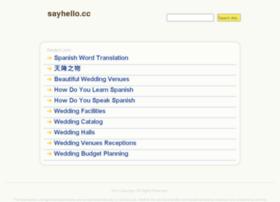 Sayhello.cc thumbnail