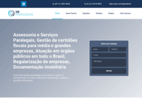 Sbparalegais.com.br thumbnail