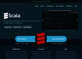 Scala-lang.org thumbnail
