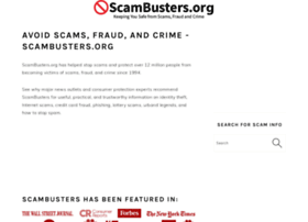 Scambusters.org thumbnail
