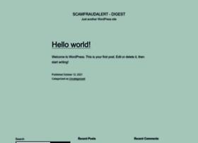 Scamfraudalert.net thumbnail