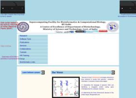 Scfbio-iitd.res.in thumbnail