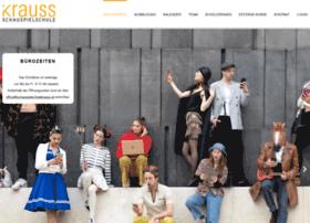 Schauspielschulekrauss.at thumbnail