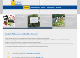 Schilder-heinrich.de thumbnail